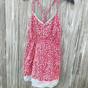 Maurice's size 2, strap tank top, layered bottom